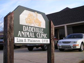 Dadeville Animal Clinic Sign